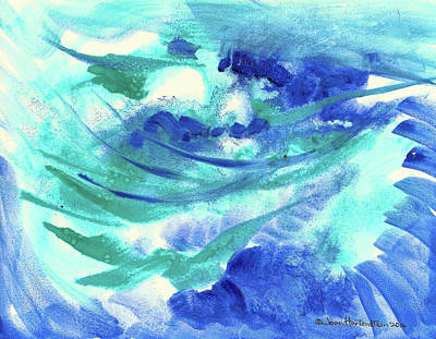 Painting - Flight by Joan Hartenstein