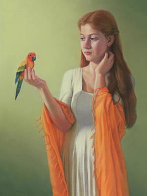 Painting - Flight Of Fancy by Rita Romero