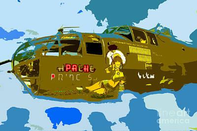 Flight Of The Apache Princess Art Print by David Lee Thompson