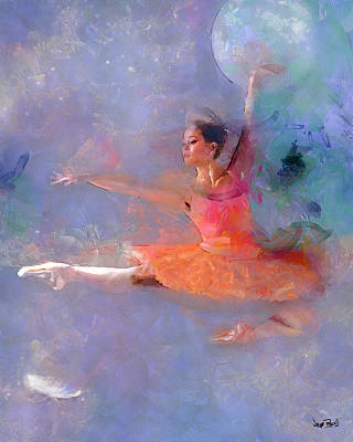 Photograph - Flight Of The Ballerina by Wayne Pascall