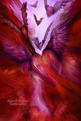 Flight Of The Heart Art Print