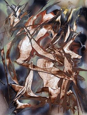 Painting - Flight Of The Hummingbird by Jason Girard