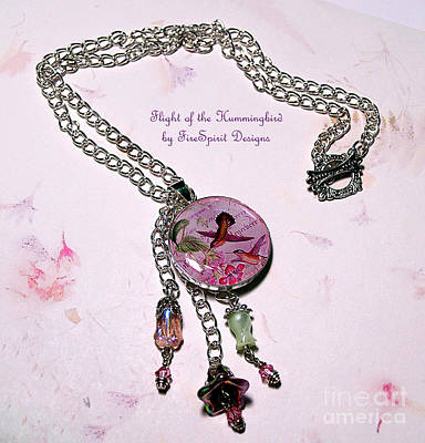 Toggle Clasp Jewelry - Flight Of The Hummingbird by Patricia Griffin Brett