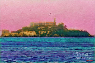 Photograph - Flight Over Alcatraz by Blake Richards