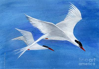 Flight - Painting Art Print by Veronica Rickard