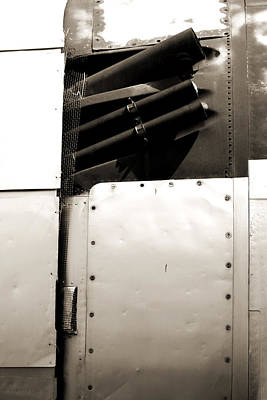 Photograph - Flighter Plane Rivets by Jackie Farnsworth