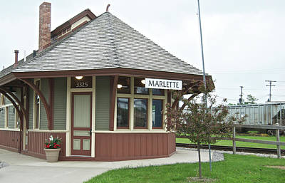 Pineapple - Flint and Pere Marquette Depot 2093 by Michael Peychich