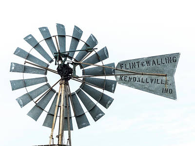 Photograph -  Flint And Walling Windmill by Gary Warnimont
