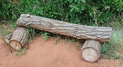 Photograph - Flintstone's Bench by Deborah Klubertanz