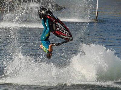 Jet Water Stunt Extreme  Art Print