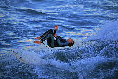 Backflip Photograph - Flipping Good Time by Craig Corwin
