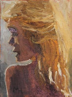 Painting - Flirt by Michael Helfen