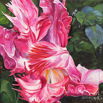 Painting - Flirtation by Lynne Schulte