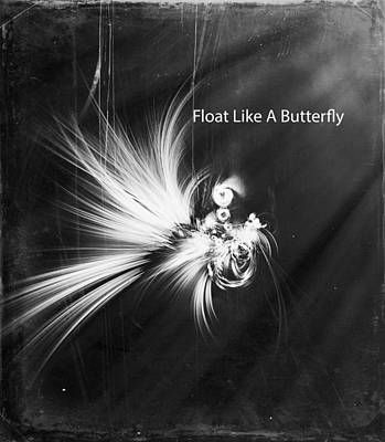 Digital Art - Float Like A Butterfly by Georgiana Romanovna