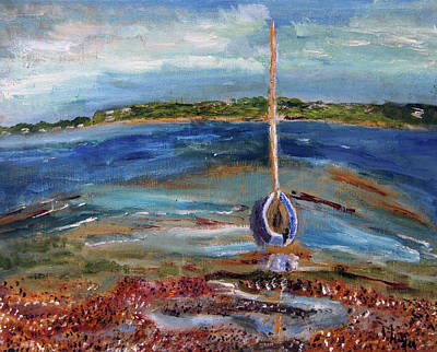 Painting - Float My Boat by Michael Helfen
