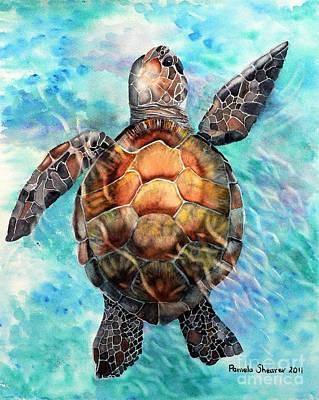 Painting - Float On Gentle Seas by Pamela Shearer