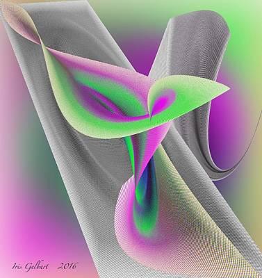 Digital Art - Floater by Iris Gelbart