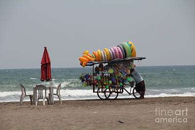 Photograph - Floaties Veracruz Mexico by Linda Queally