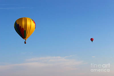 Photograph - Floating Above The Clouds by Karen Adams