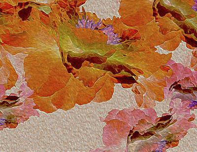 Digital Art - Floating Bouquet 16 by Lynda Lehmann