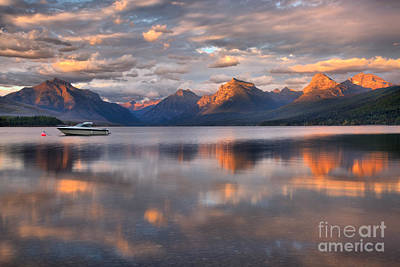 Photograph - Floating By The Fiery Peaks by Adam Jewell