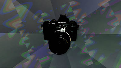 Photograph - Floating Camera by Philip A Swiderski Jr