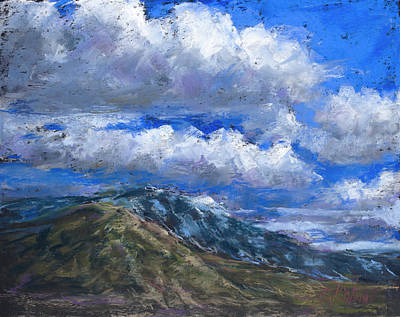 Pastel - Floating Clouds by Billie Colson