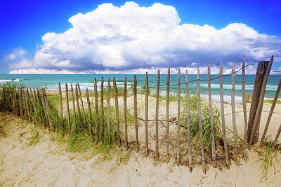 Photograph - Floating Clouds Over The Dunes by Debra and Dave Vanderlaan