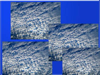 Floating Clouds Art Print