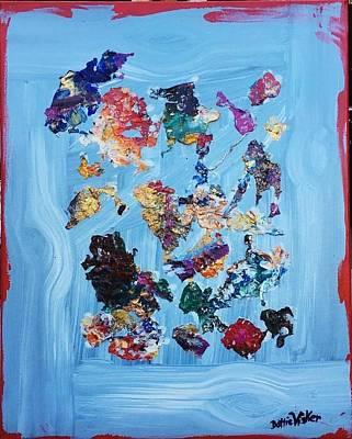 World Forgotten - Floating  by Art Studio of Dottie Phelps Visker