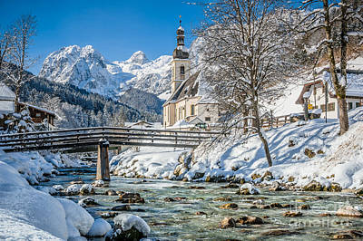 St Sebastian Photograph - Floating Down The Winter Wonderland River by JR Photography