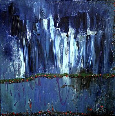 Wall Art - Painting - Floating Gardens by Pam Roth O'Mara