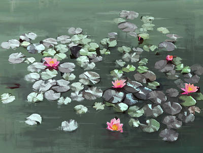 Digital Art - Floating by Gina Harrison