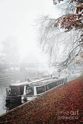 Photograph - Floating Homes Of  River Cam by Eden Baed