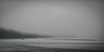Photograph - Floating In The Fog by Don Schwartz