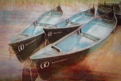 Photograph - Floating In Watercolors by Debra and Dave Vanderlaan
