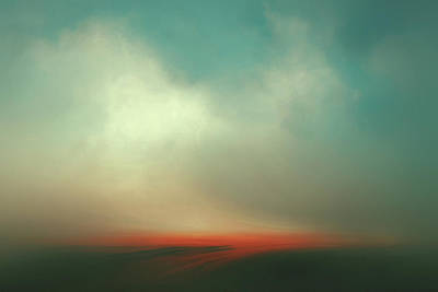 Abstract Landscape Royalty-Free and Rights-Managed Images - Floating by Lonnie Christopher