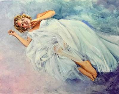 Painting - Floating On A Dream by Connie Schaertl
