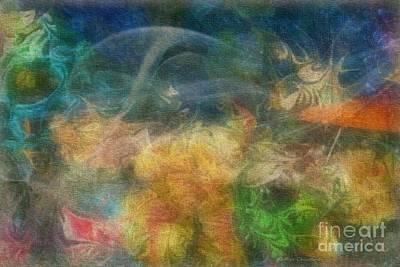 Digital Art - Floating On Air by Kathie Chicoine