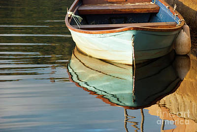 Art Print featuring the photograph Floating On Blue 44 by Wendy Wilton