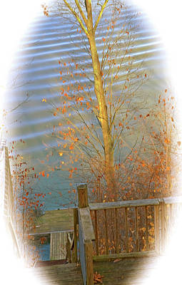 Photograph - Floating Pier by Gwendolyn Christopher