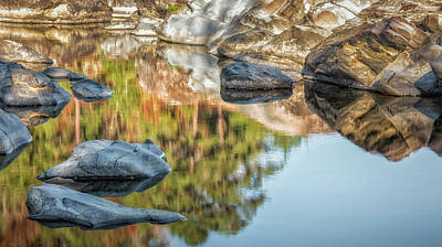 Photograph - Floating Rocks by James Barber