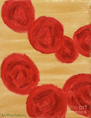 Painting - Floating Roses by Anthony LaRocca