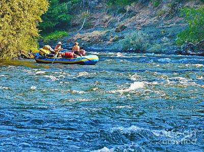Photograph - Floating The Rogue River by Ansel Price