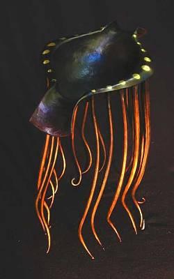 Sculpture - Floating Vessel by Todd Malenke