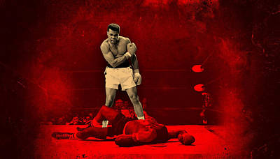 Boxer Digital Art - Floats Like A Butterfly Stings Like A Bee by Movie Poster Prints