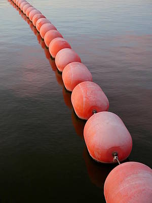 Photograph - Floats by Richard Reeve