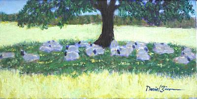 Flocking Together Original by David Zimmerman