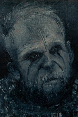 Painting - Floki by Lynn Hughes