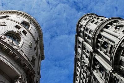 Photograph - Flood Building And Bank Building - San Francisco Architecture  by Matt Harang